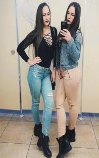 Проститутка Даша и Вика